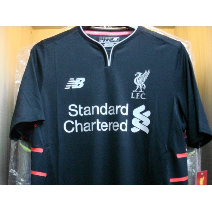 new arrivals cbc39 2f3ab NEW BALANCE PLAYER ISSUE Liverpool 3rd ELITE 2016-17 Jersey