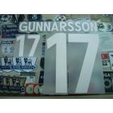 Official GUNNARSSON #17 Iceland Home EURO 2016 2015-17 PRINT