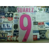 OFFICIAL SUAREZ #9 Barcelona Away 2016-17 SIPESA PRINT