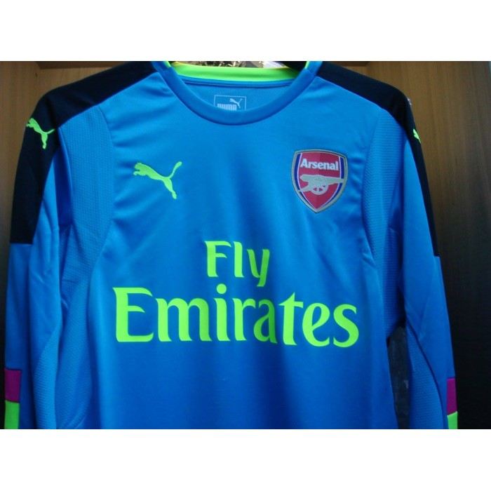 timeless design 92a9e 2257c PUMA Arsenal Home Goalkeeper Long Sleeves 2016-17 Jersey