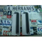 Official A.HERNANES #11 Juventus Home 2016-17 STILSCREEN Name Number