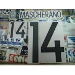 Official MASCHERANO #14 Argentina Home 2015-17 PRINT