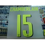 Official CHAMBERLAIN #15 Arsenal 3rd UCL CUP 2016-17 PRINT