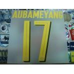 Official AUBAMEYANG #17 Borussia Dortmund Away 2016-18 PU PRINT