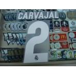 Official CARVAJAL #2 Real Madrid Away 2016-17 SPORTING ID PRINT