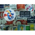 Official ASIAN CHAMPIONS LEAGUE 2016 + ONE ASIA ONE GOAL LICENSED Patches