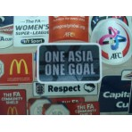 Official ONE ASIA ONE GOAL 2016 LICENSED Patches