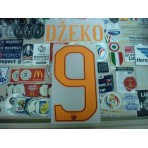 Official DZEKO #9 AS ROMA Home 2016-17 STILSCREEN Name Number