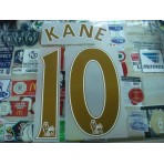 OFFICIAL KANE #10 Tottenham Hotspurs Away 2016-17 GOLD PS PRO PRINT