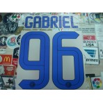 Official GABRIEL #96 Inter Milan Away 2016-17 STILSCREEN Name Number