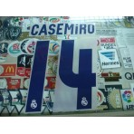 Official CASEMIRO #14 Real Madrid Home 2016-17 SPORTING ID PRINT
