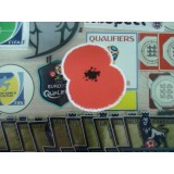 Official Poppy Remembrance 2016-17 ART CUT FLOCK Patch