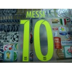 PLAYER ISSUE MESSI #10 Barcelona 3rd UCL 2016-17 SIPESA PRINT
