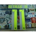 OFFICIAL NEYMAR JR #11 Barcelona 3rd UCL 2016-17 SIPESA PRINT