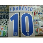 OFFICIAL CARRASCO #10 Atletico Madrid Home 2016-17 PRINT