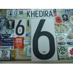 Official KHEDIRA #6 Germany Home Confederation CUP 2017-18 PRINT
