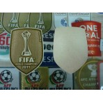 OFFICIAL Barcelona Club World Cup CWC 2011 GOLD SENSCILIA patch