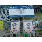 OFFICIAL EFL CUP FINAL 2016-17 PU Patches (PAIR)