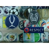 Official REAL MADRID UEFA Super Cup + Respect + BOH 11 Senscilia Patch