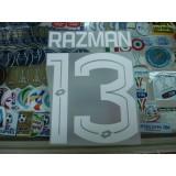 Official RAZMAN #13 Selangor Home / 3rd 2017 PRINT