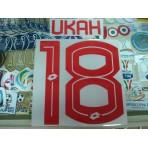 Official UKAH #18 Selangor Away 2017 PRINT
