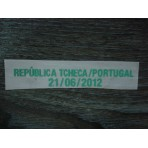 Czech Republic vs Portugal EURO 2012 Match Detail