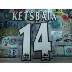 Official KETSBAIA #14 NEWCASTLE United Home WHITE FAPL 1997-2007 PLAYER SIZE SENSCILIA PRINT