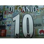 Official DI CANIO #10 WEST HAM UNITED Home WHITE FAPL 1997-2007 PLAYER SIZE SENSCILIA PRINT