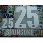 Official SHUNSUKE #25 YOKOHAMA F-MARINOS Home 2013 J-league PRINT