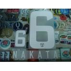 Official NAKATA #6 KASHIMA ANTLERS Home 2013 J-league PRINT