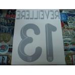 Official REVEILLERE #13 LYON 3RD UCL 2012-13 PRINT