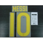 OFFICIAL MESSI #10 Barcelona Home 2011-12 SIPESA PRINT