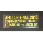 JDT AFC CUP FINAL 2015 Match Details Patch