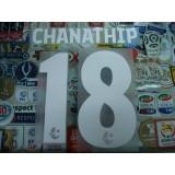 Official CHANATHIP #18 MUANGTHONG HOME 2017 PRINT