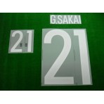 Official G.SAKAI #21 Japan Home 2015-17 PRINT