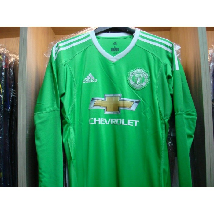 pretty nice eb7dc 64800 ADIDAS Manchester United Away Goalkeeper 2017-18 Jersey