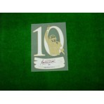 Official TOTTI #10 EXCLUSIVE Testimonial Sleeve Badge