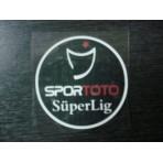 SPORTOTO Superlig Turkish League 2011-12 PU Patch