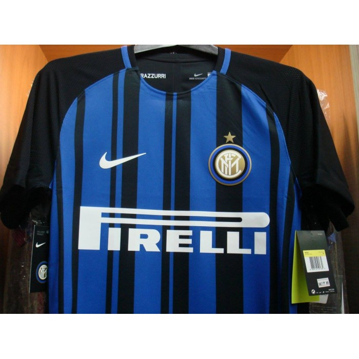 brand new 530ca ecb10 NIKE AEROSWIFT Inter Milan Home AUTHENTIC 2017-18 Jersey