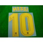OFFICIAL MESSI #10 Barcelona Home 2017-18 PRINT