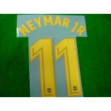 OFFICIAL NEYMAR JR #11 Barcelona Home 2017-18 PRINT