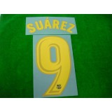 OFFICIAL SUAREZ #9 Barcelona Home 2017-18 PRINT