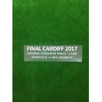 OFFICIAL UEFA CHAMPIONS LEAGUE FINAL CARDIFF 2017 REAL MADRID Match Details