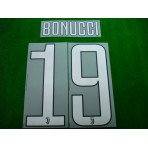 Official BONUCCI #19 Juventus Home 2017-18 PRINT