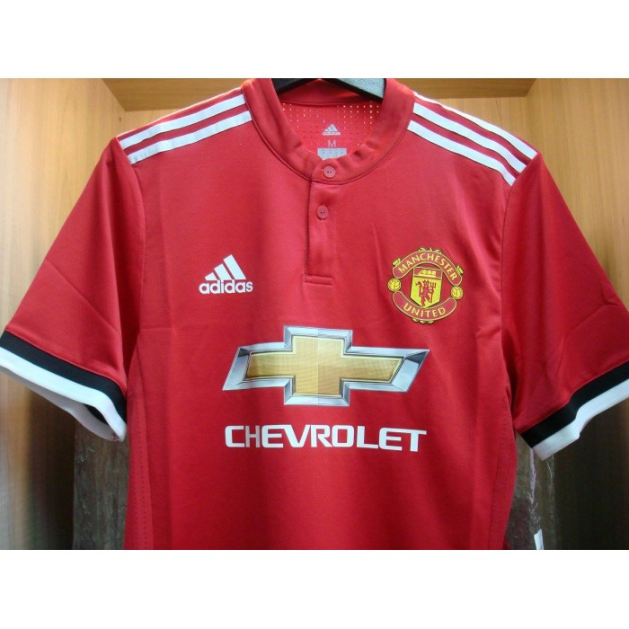 best sneakers 19939 b7835 ADIZERO Manchester United Football Club Home 2017-18 PLAYER ...