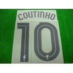 Official COUTINHO #10 Liverpool Away CUP 2017-18 PRINT