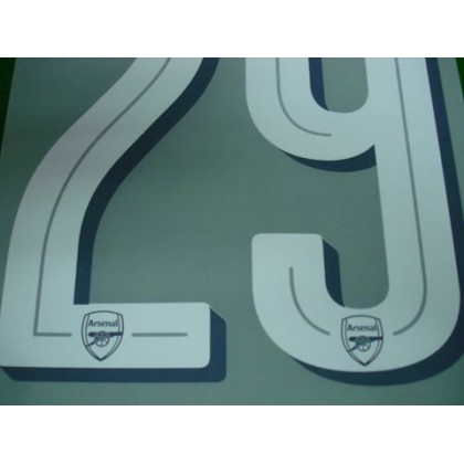Official XHAKA #29 Arsenal Home CUP 2017-18 PRINT