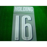 Official HOLDING #16 Arsenal Home CUP 2017-18 PRINT