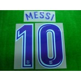 OFFICIAL MESSI #10 Barcelona Away 2017-18 PRINT