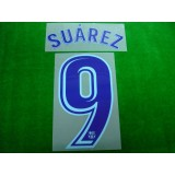 OFFICIAL SUAREZ #9 Barcelona Away 2017-18 PRINT